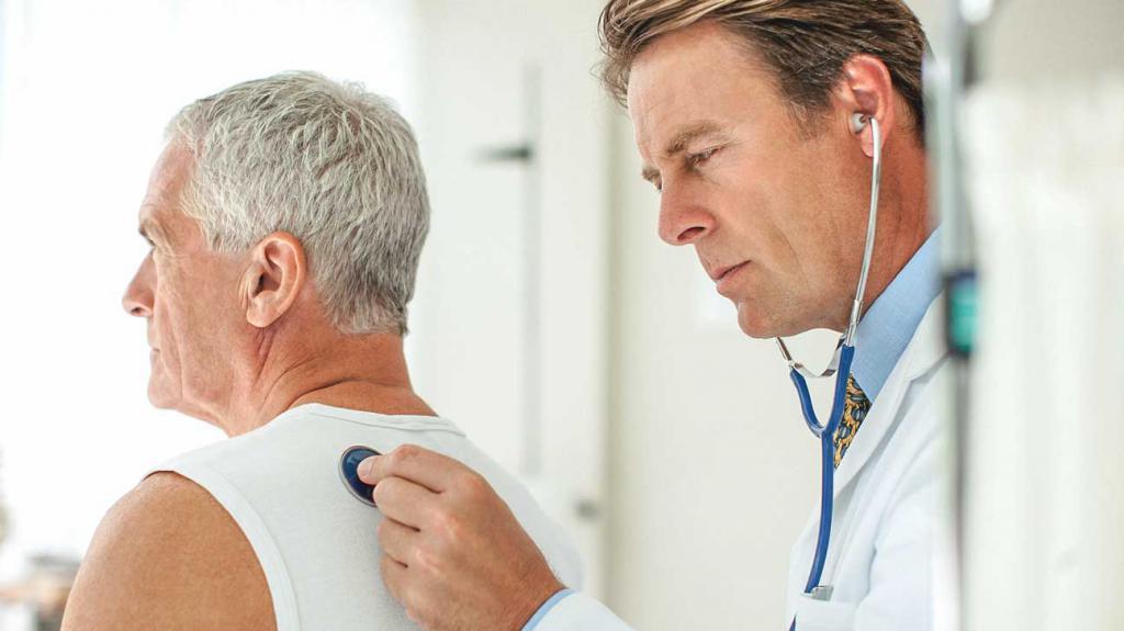 Рак легких с метастазами в лимфоузлы
