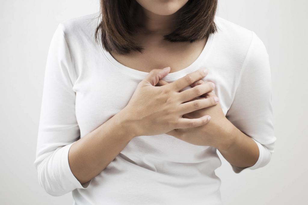 жировики на соске груди