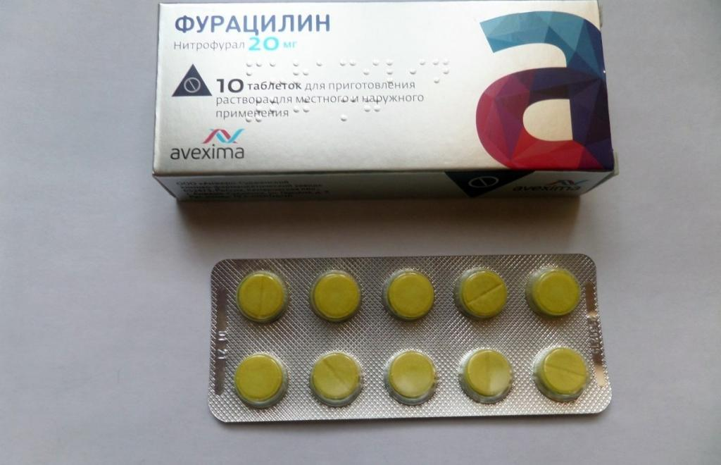 фурацилин инструкция по применению полоскание горла