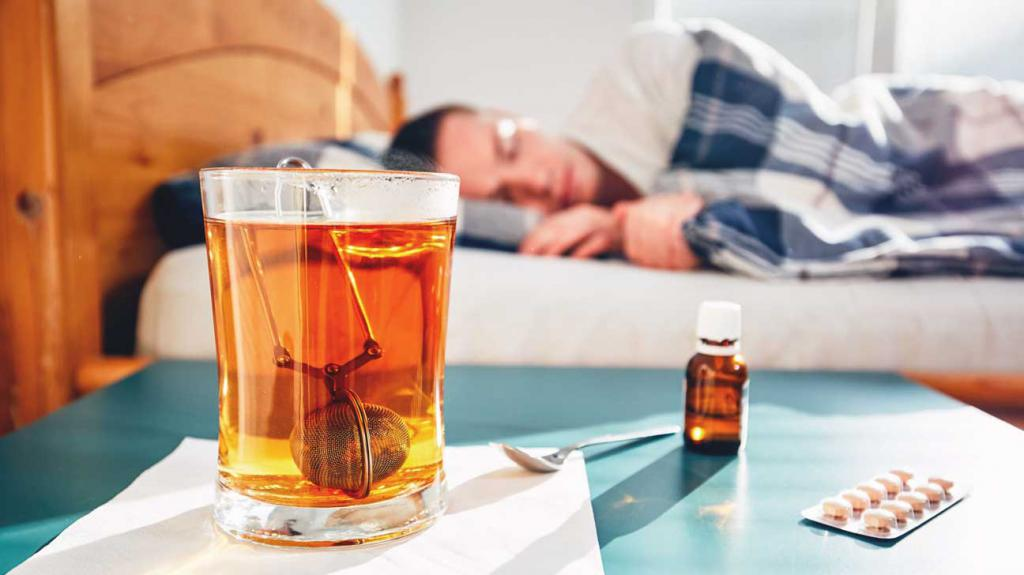 Тяжелое состояние больного при гриппе