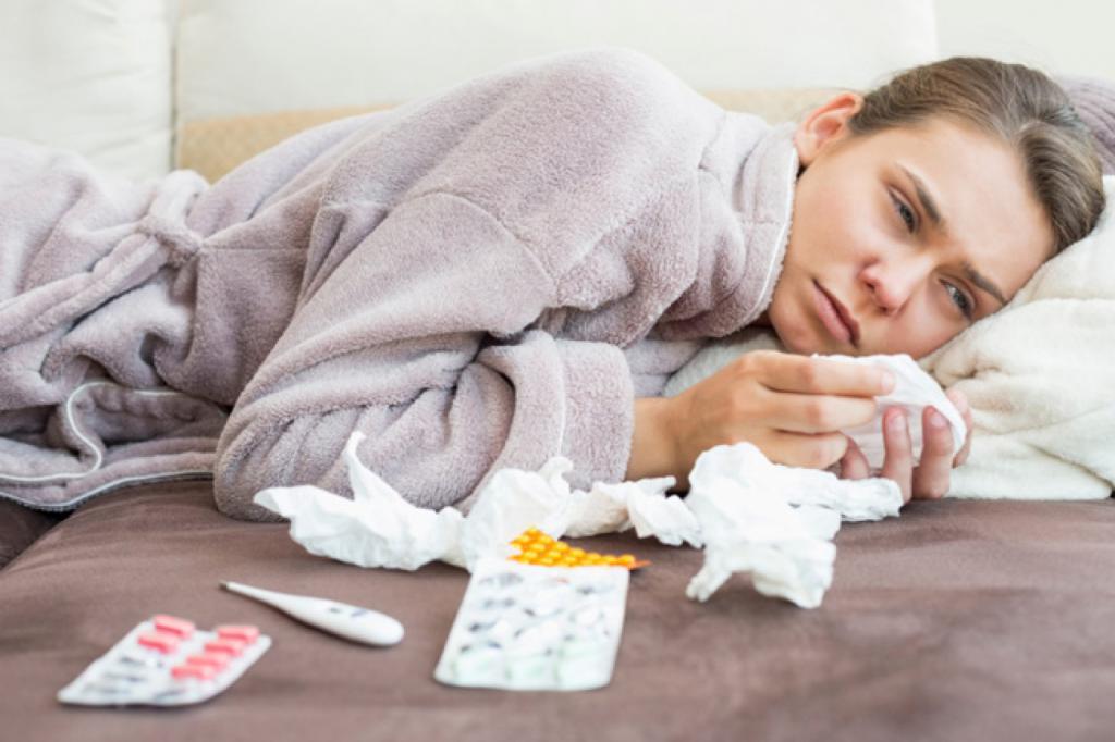 Осложнение при гриппе