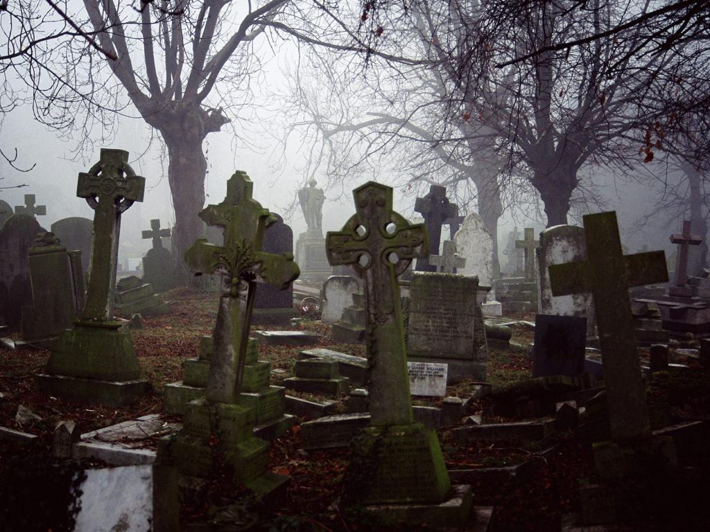 Кладбище с мервецами во сне
