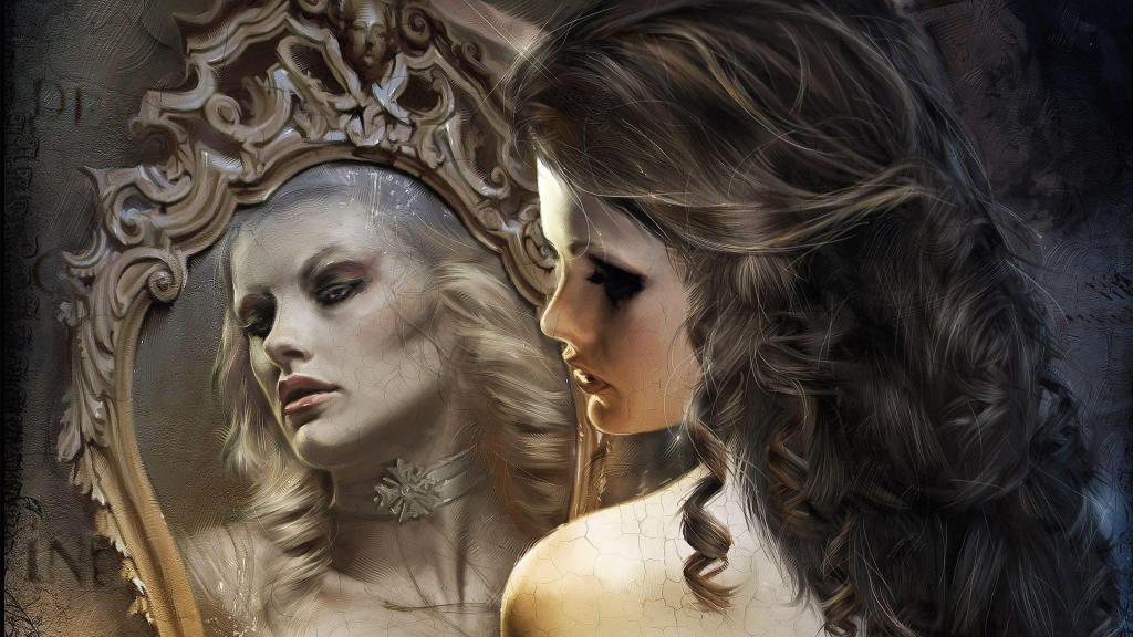 Отражение в зеркале во сне