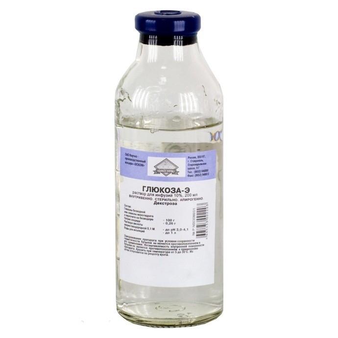 глюкоза раствор для инфузий