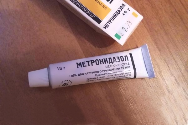 Наружный гель Метронидазол
