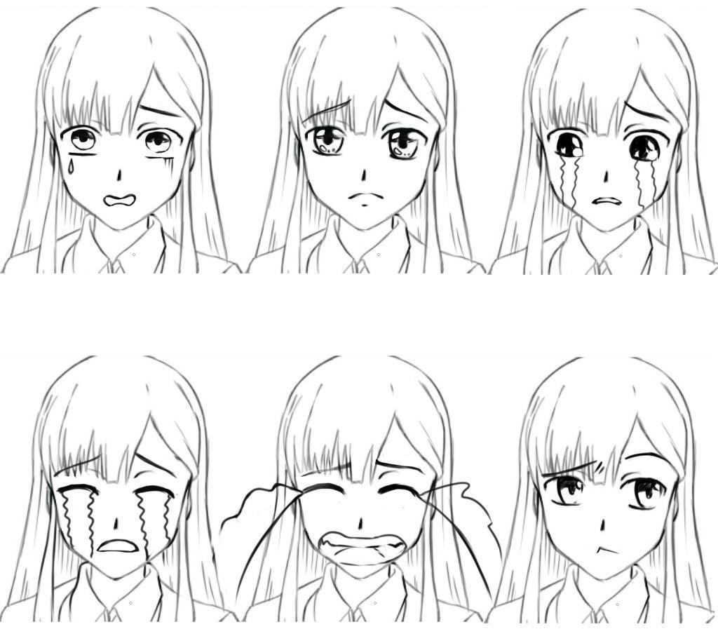 Рисование негативных эмоций