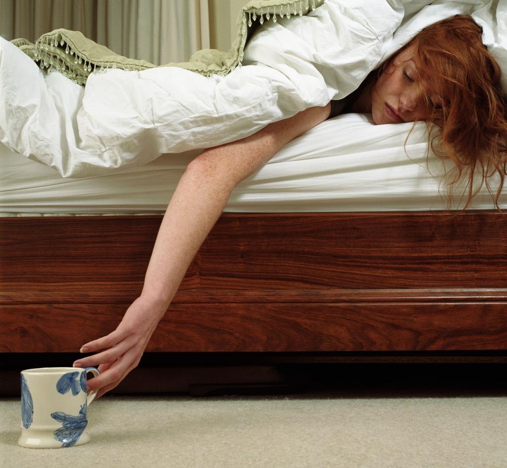 Слабость утром