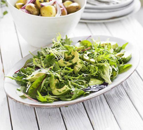 Зеленый салат для похудения