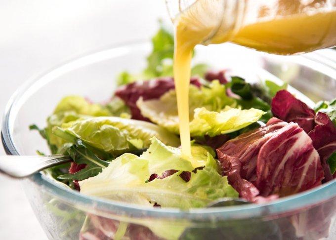 Заправка для диетических салатов