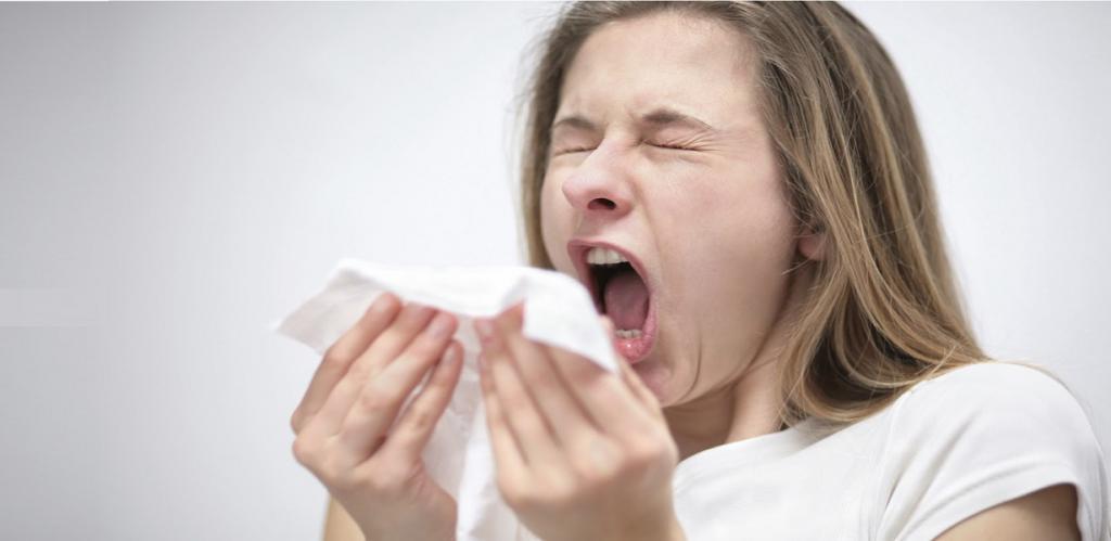 наличие простуды