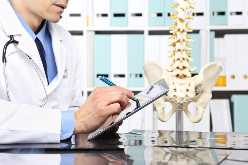посещение ортопеда