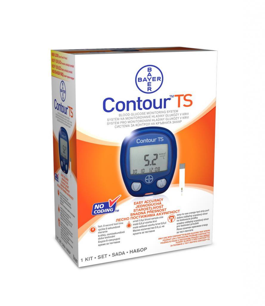 """Прибор для измерения уровня сахара """"Контур"""""""