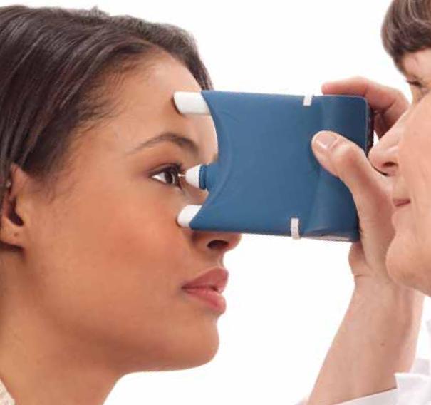 Проверка зрения тонометром