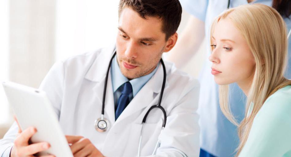 На приеме у доктора