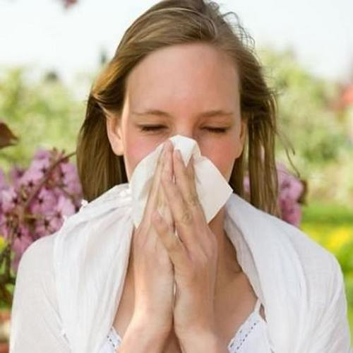 сухой аллергический