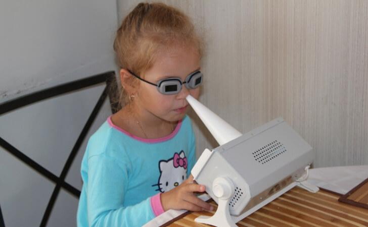 Аппараты для кварцевания носа и горла
