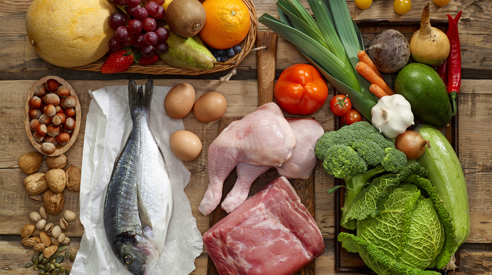 Продукты с содержанием витаминов