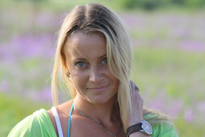 актриса и модель Ольга Сидорова