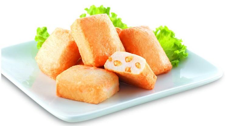 Сыр тофу с рыбой
