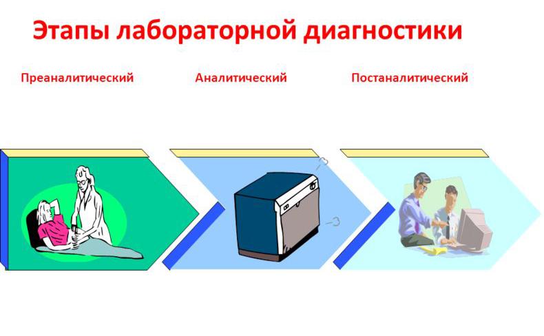 этапы лабораторной диагностики