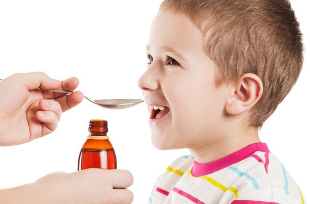сироп солодки для детей