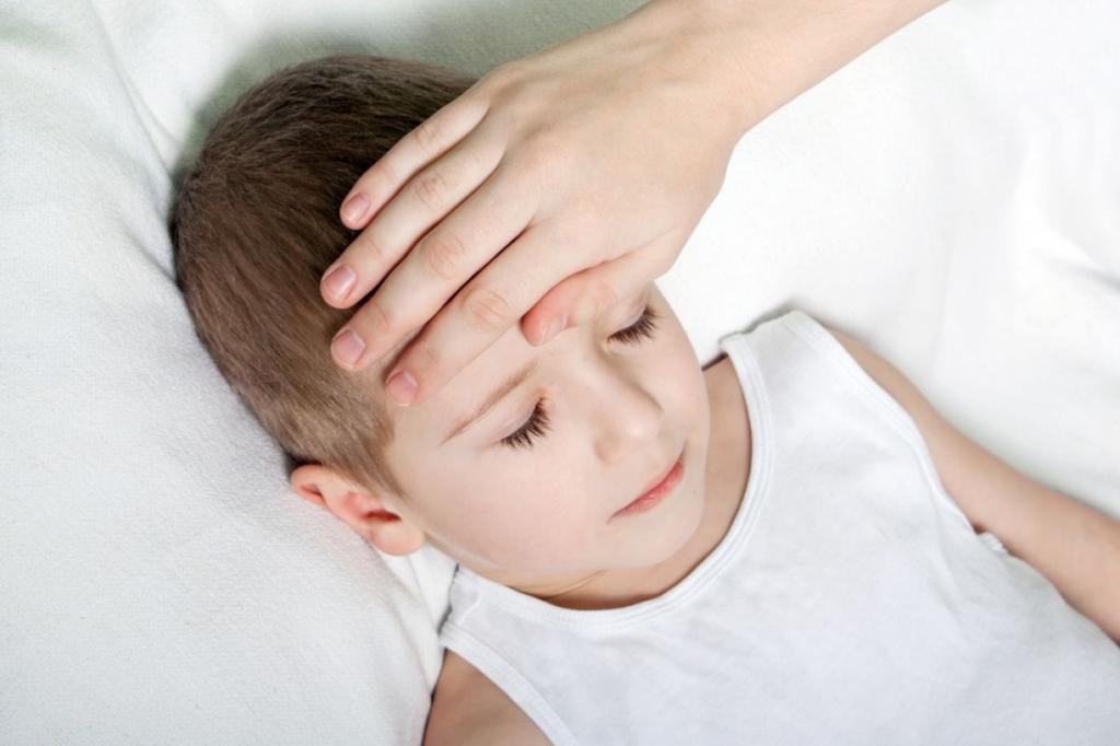 При боли в ушах может повышаться температура тела