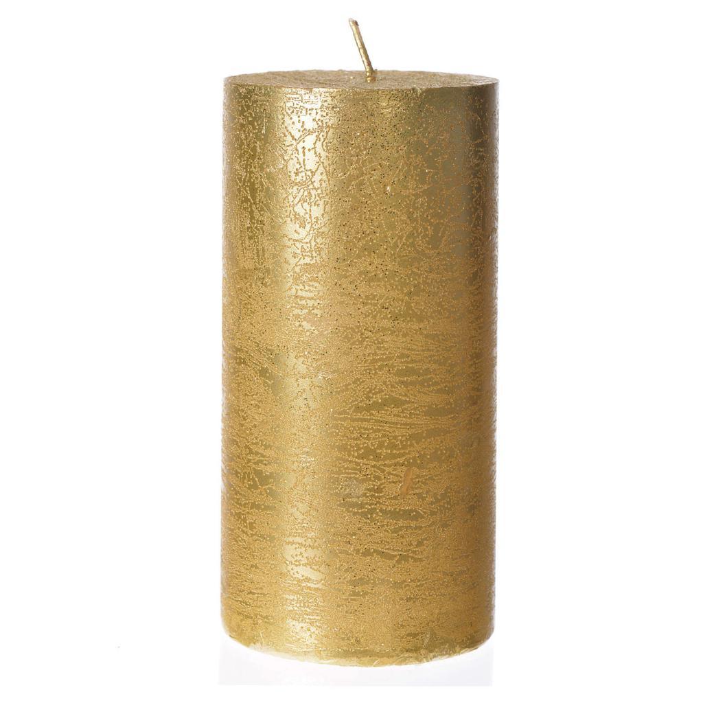 Свеча в форме цилиндра