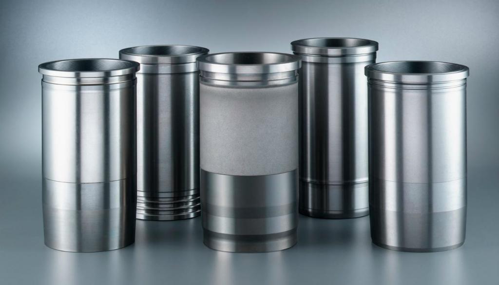 Металлические полые цилиндры
