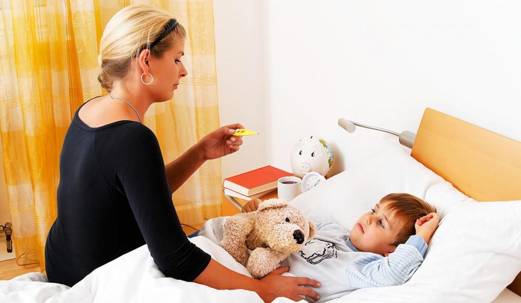 пробка в горле у ребенка без температуры