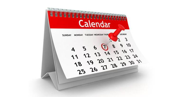 Календарный метод определения овуляции