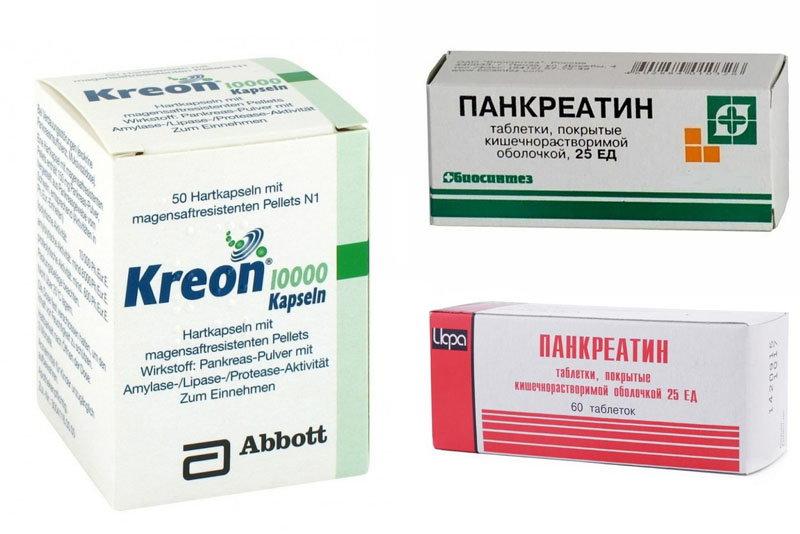 Препараты для поджелудочной
