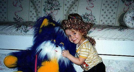 лиза в детстве