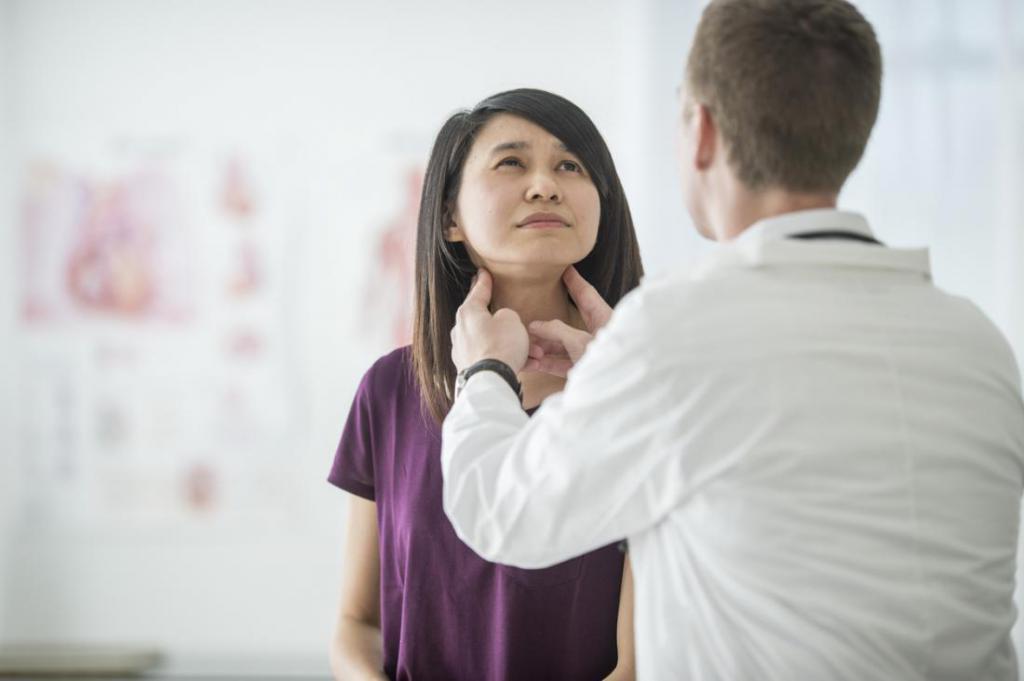Обследование лимфатических узлов