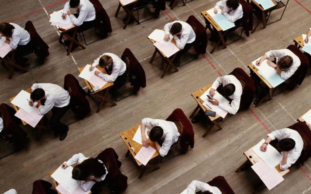 Писать экзамены нужно самостоятельно