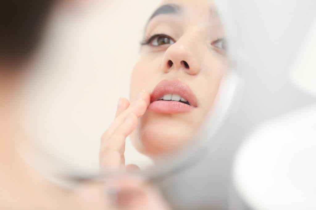 болячки на внутренней стороне нижней губы