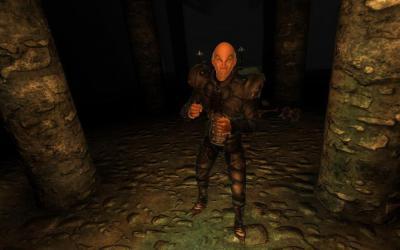 Сражение с вампиром в Oblivion