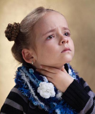 насморк и сильно болит горло