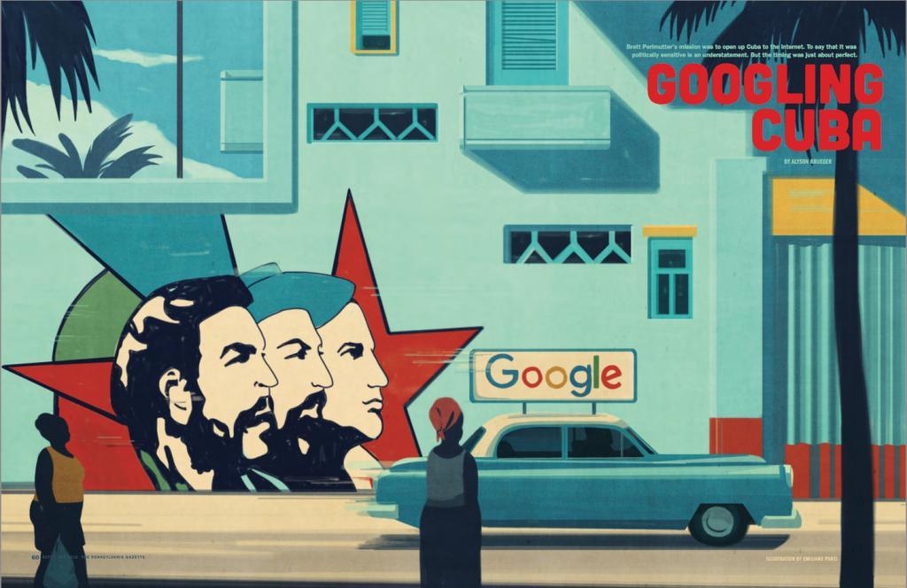 Красочные карикатуры и графические иллюстрации от известного миланского художника