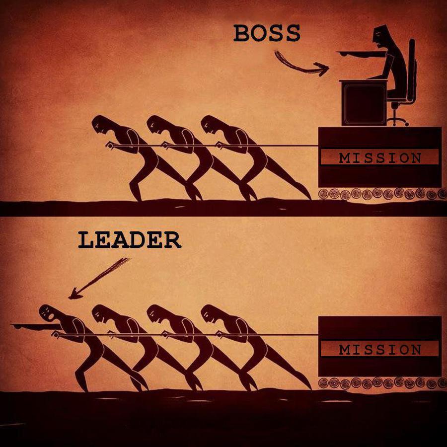 Как стать лидер начальником