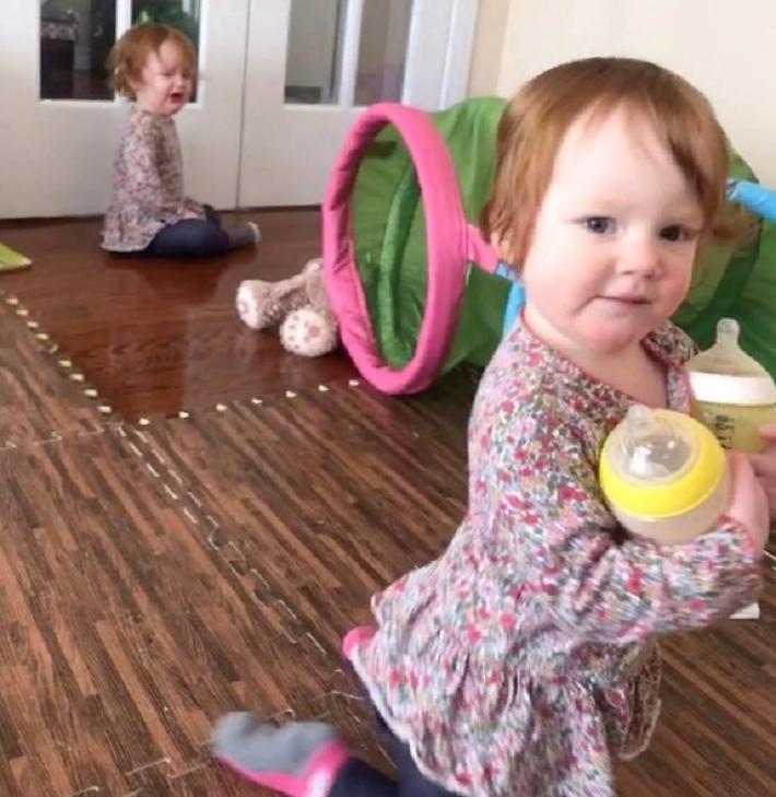 Фотографии, которые поднимают настроение, а также доказывают, что дети - это маленькие гении