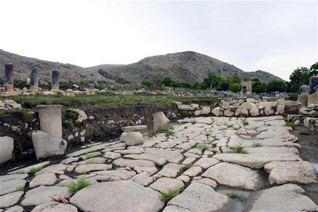В Турции обнаружена 2000-летняя арена римского гладиатора, а также древние здания города
