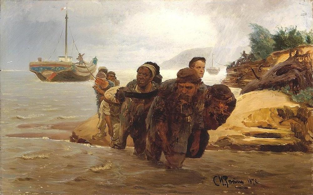 Для этого нужны были животные или желающие заработать люди. Как в прошлые времена буксировали лодки и баржи вверх по рекам