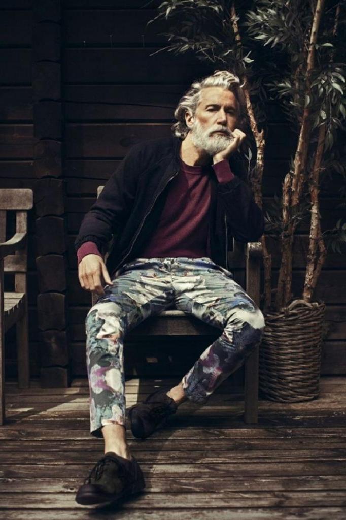 Возраст не помеха тому, чтобы всегда выглядеть броско и эффектно: этим мужчинам давно за 50