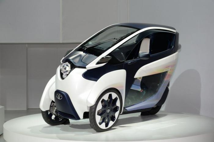 Toyota showed its vision of the city car of the future