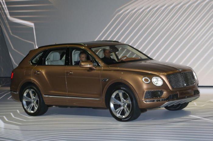 Только часы для нового Bentley Bentayga будут стоить 170000$