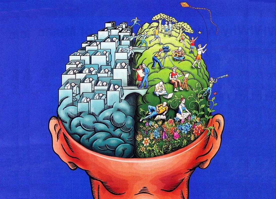 Пространственная ментальность связана