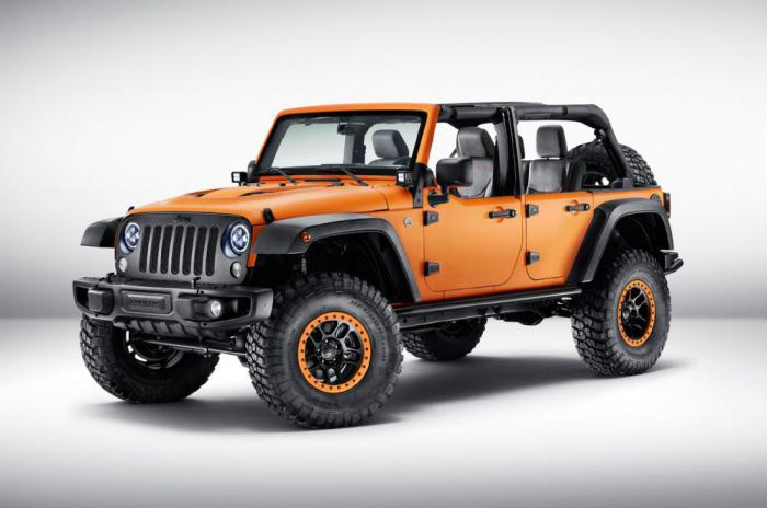 Jeep Cherokee, Wrangler and Renegade with a unique tuning Mopar debuted in Frankfurt