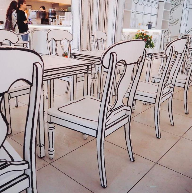 """""""Картонное"""" кафе в Японии - место, где каждый почувствует себя будто в мультфильме (фото)"""