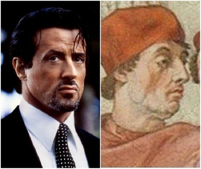 10 звезд, у которых есть поразительное сходство с историческими персонажами: Чак Норрис сильно похож на Ван Гога