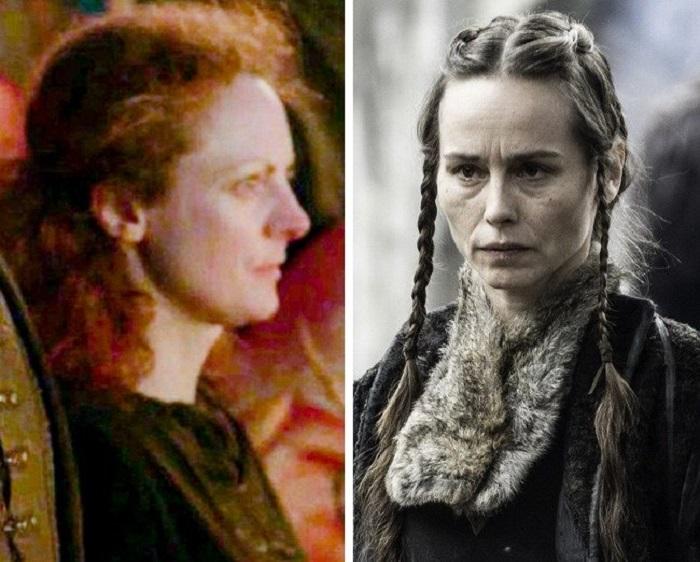 """9 персонажей из """"Игры престолов"""", которых незаметно заменили: роль Горы исполнили три разных актера"""